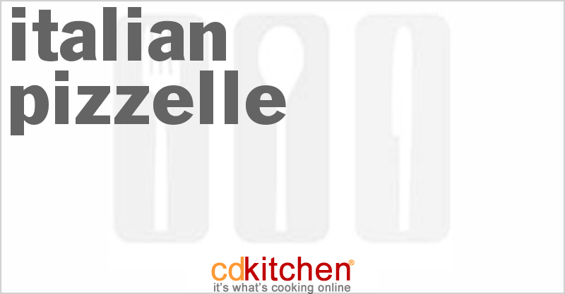 Italian Pizzelle and more recipes