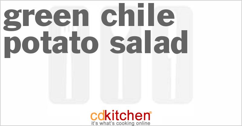 Green Chile Potato Salad Recipe