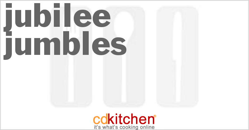 Jubilee Jumbles and more recipes