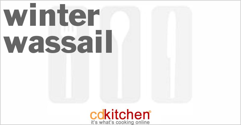 Winter Wassail Recipe from CDKitchen