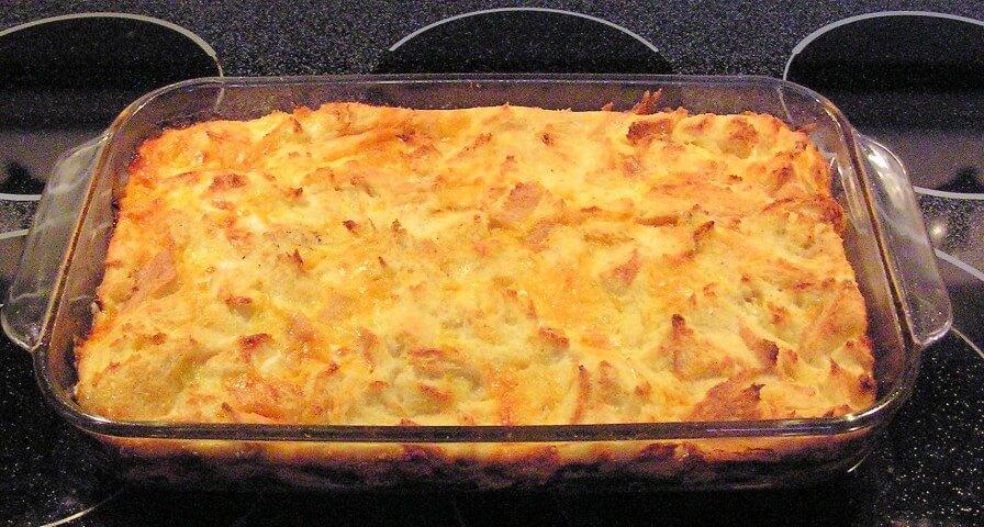 recipe for cheddar breakfast strata