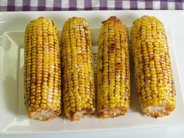 recipe for smoky-spicy grilled corn