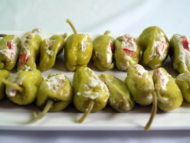 recipe for stuffed pepperoncini