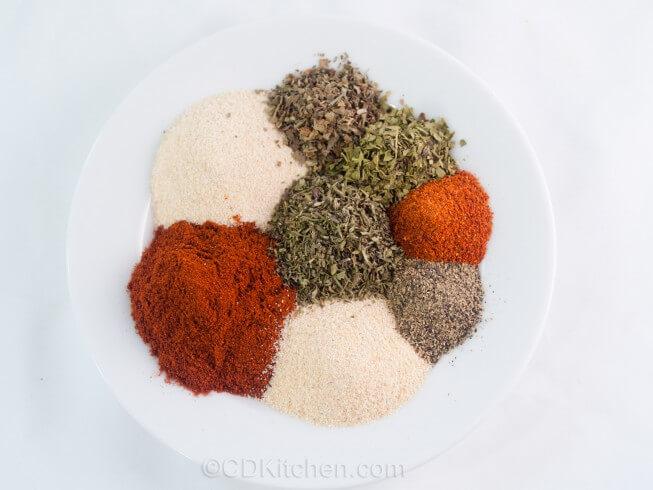 recipe for blackened seasoning mix