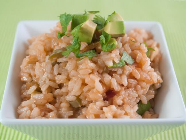 recipe for southwestern avocado rice