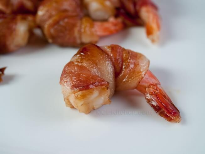 recipe for bacon wrapped teriyaki shrimp