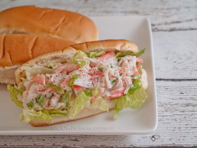 recipe for imitation lobster rolls