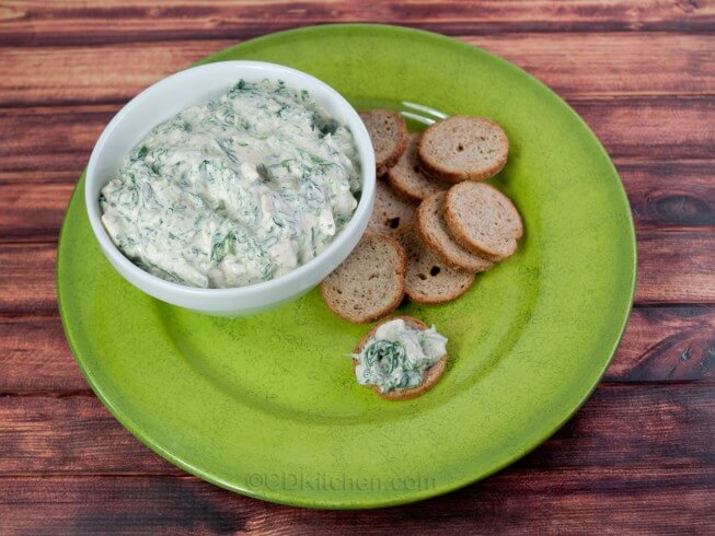 recipe for spinach dip with water chestnuts