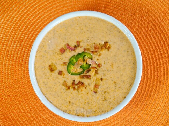 recipe for bacon cheeseburger soup