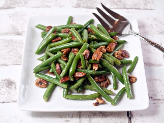 recipe for pecan green beans