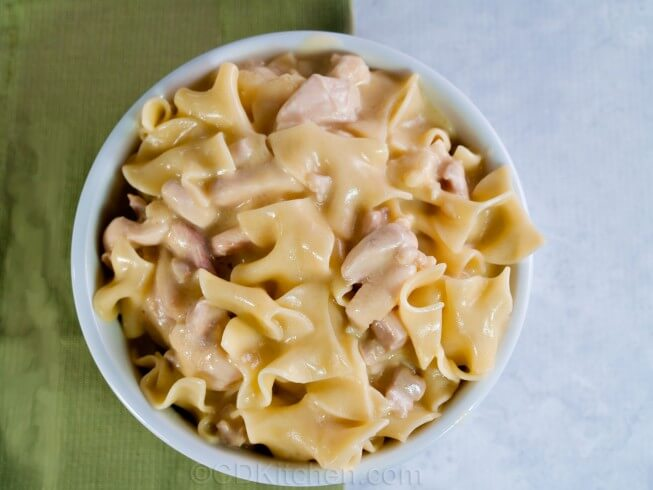 recipe for super easy chicken and noodles