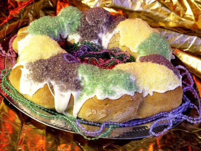 recipe for official mardi gras king cake