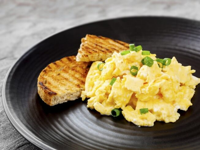 recipe for great scrambled eggs