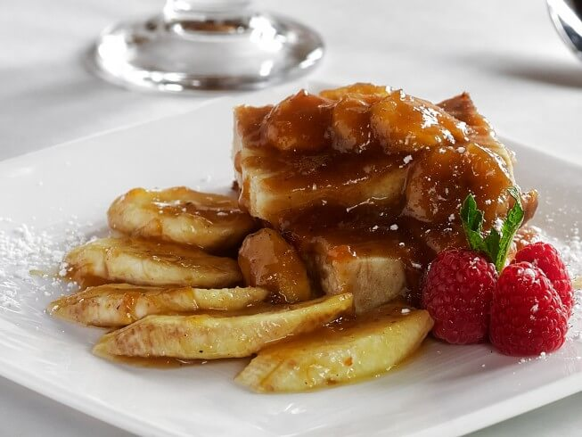 recipe for easy bananas foster