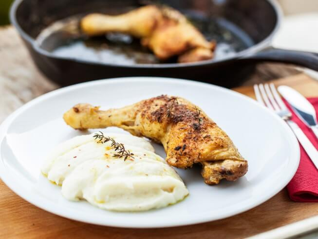 recipe for creamy mashed cauliflower