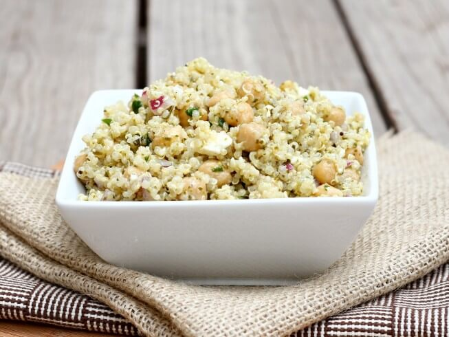 recipe for quinoa with chickpeas