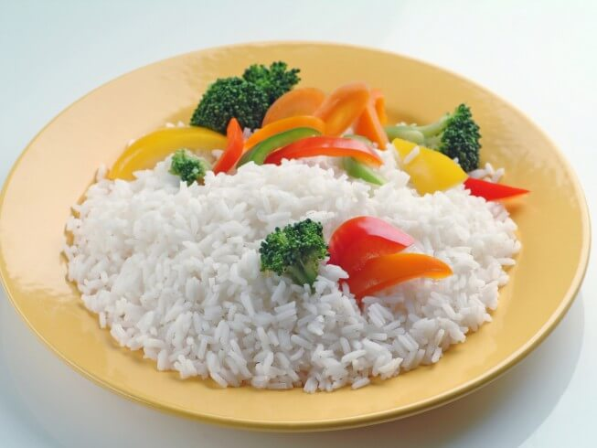 recipe for baked white rice