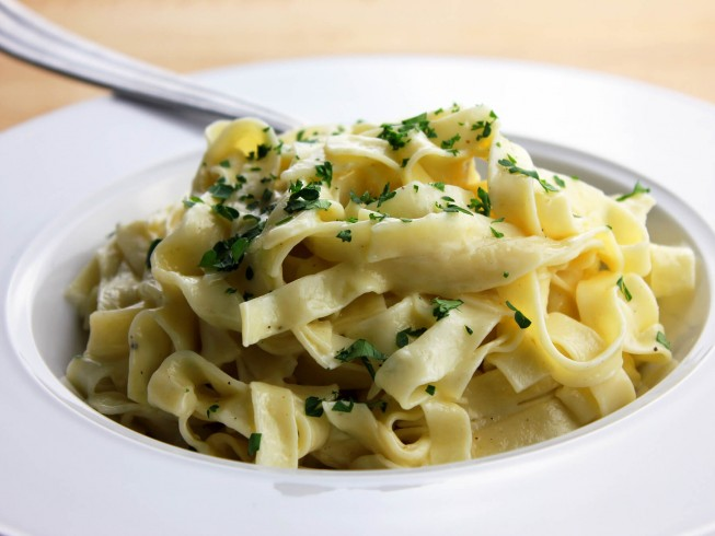 recipe for fettuccine with herb butter