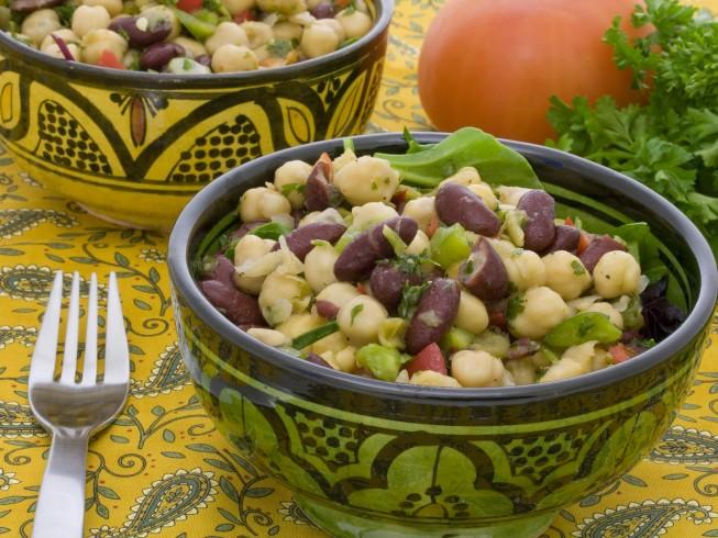 recipe for 4 bean salad